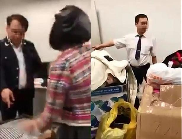 """Xã hội - Hải quan Hà Nội lên tiếng về clip """"làm luật"""" ở sân bay Nội Bài"""