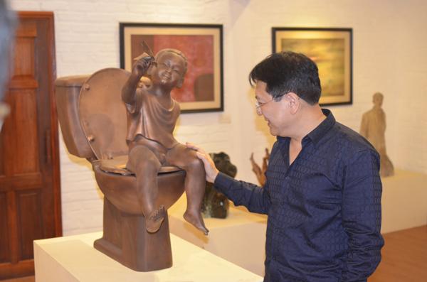 Sự kiện - 'Mục sở thị' không gian nghệ thuật 1000m2 của Thứ trưởng Vương Duy Biên
