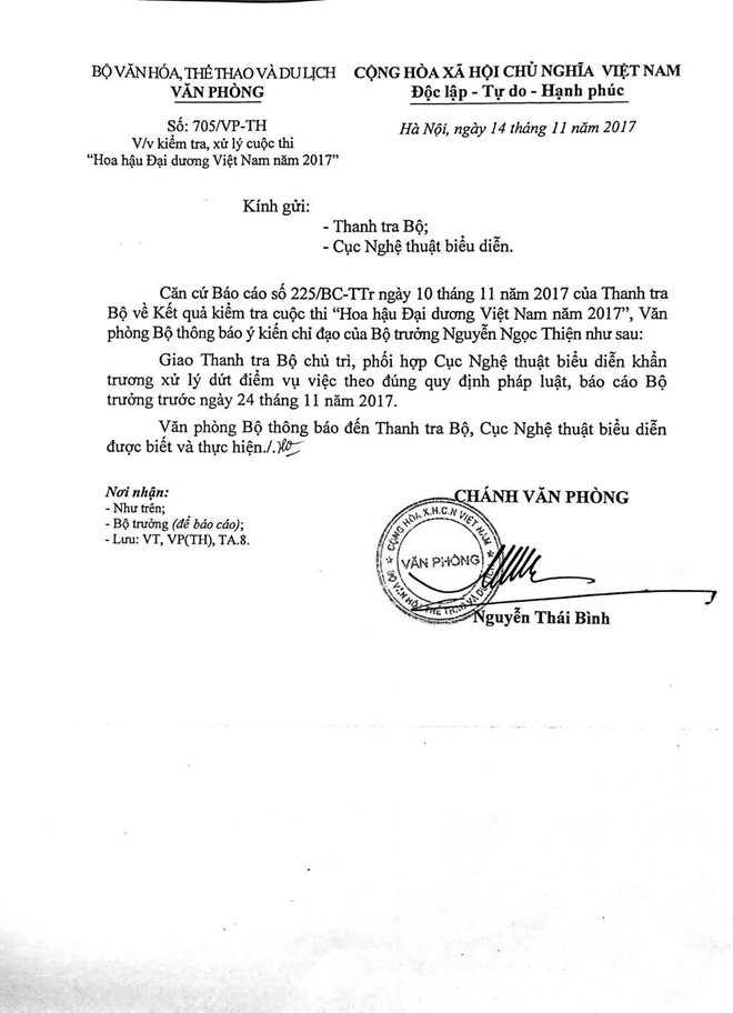 Sự kiện - Bộ trưởng Nguyễn Ngọc Thiện yêu cầu xử lý dứt điểm vụ HH Ngân Anh thẩm mỹ