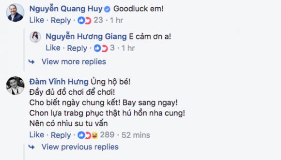 Sự kiện - Đàm Vĩnh Hưng ủng hộ Hương Giang Idol đi thi Hoa hậu Chuyển giới Quốc tế (Hình 2).