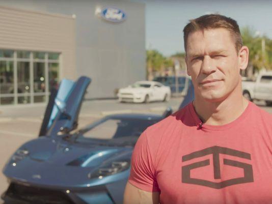 Xe++ - 'Ly hôn' với siêu xe Ford GT 2017, đô vật John Cena đối mặt nguy cơ mất 75.000 USD