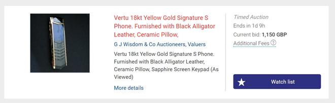 Công nghệ - Vertu vỡ nợ, điện thoại siêu sang thanh lý giá bằng 1/10