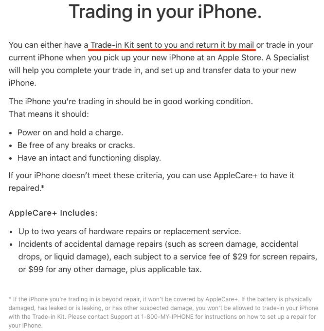 Công nghệ - Apple gửi thông báo cho phép đổi iPhone cũ lấy iPhone 8 trước giờ G (Hình 2).