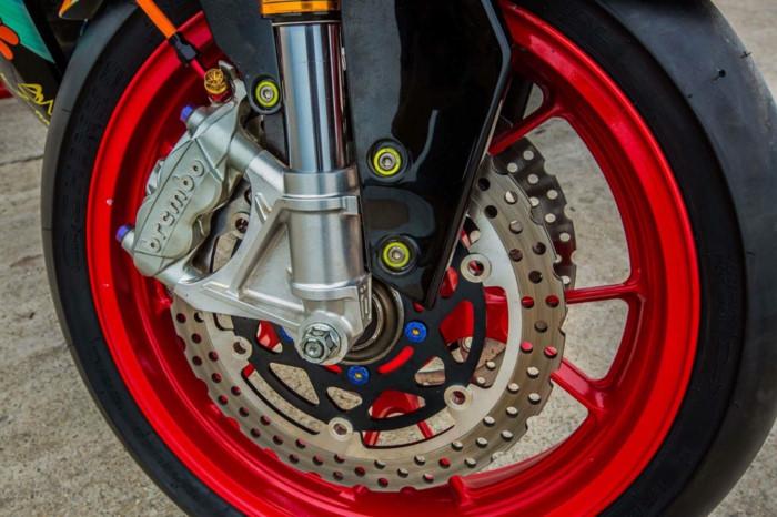 Yamaha Exciter 2009 biển độc, độ khủng của biker Hạ Long - Hình 7