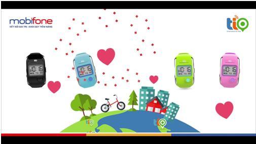 Công nghệ - Đồng hồ thông minh Tio của MobiFone, quà giáng sinh ý nghĩa cho bé (Hình 2).