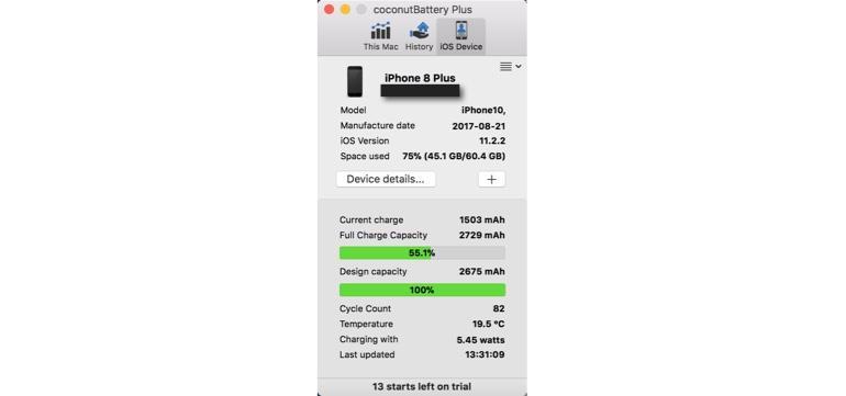 Thủ thuật - Tiện ích - [Khuyến cáo] iPhone X, iPhone 8/8 Plus nhanh chai pin gấp đôi thiết bị cũ (Hình 2).
