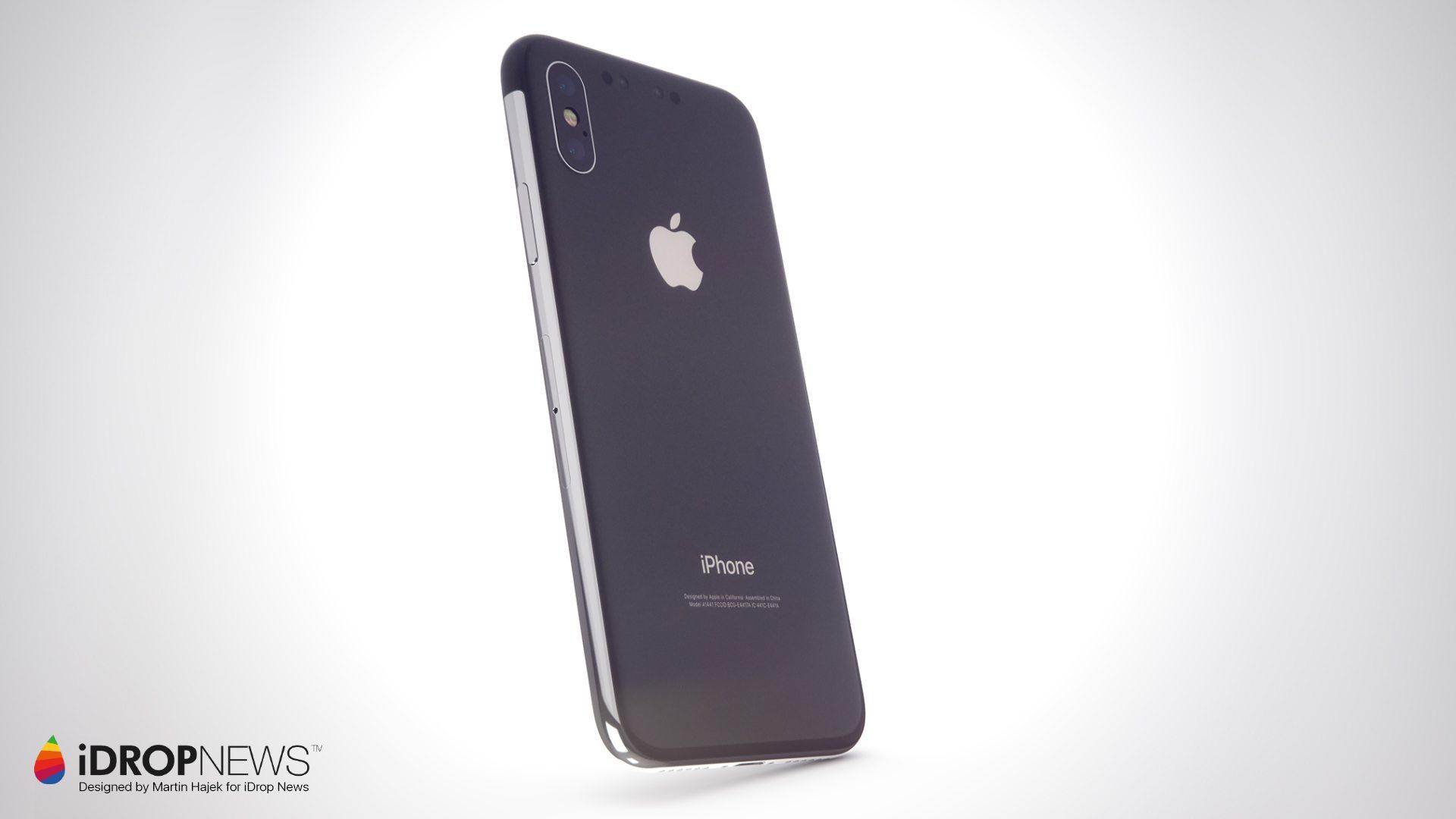 Kẻ kế nhiệm iPhone X lộ diện concept đẹp như mơ - Hình 3