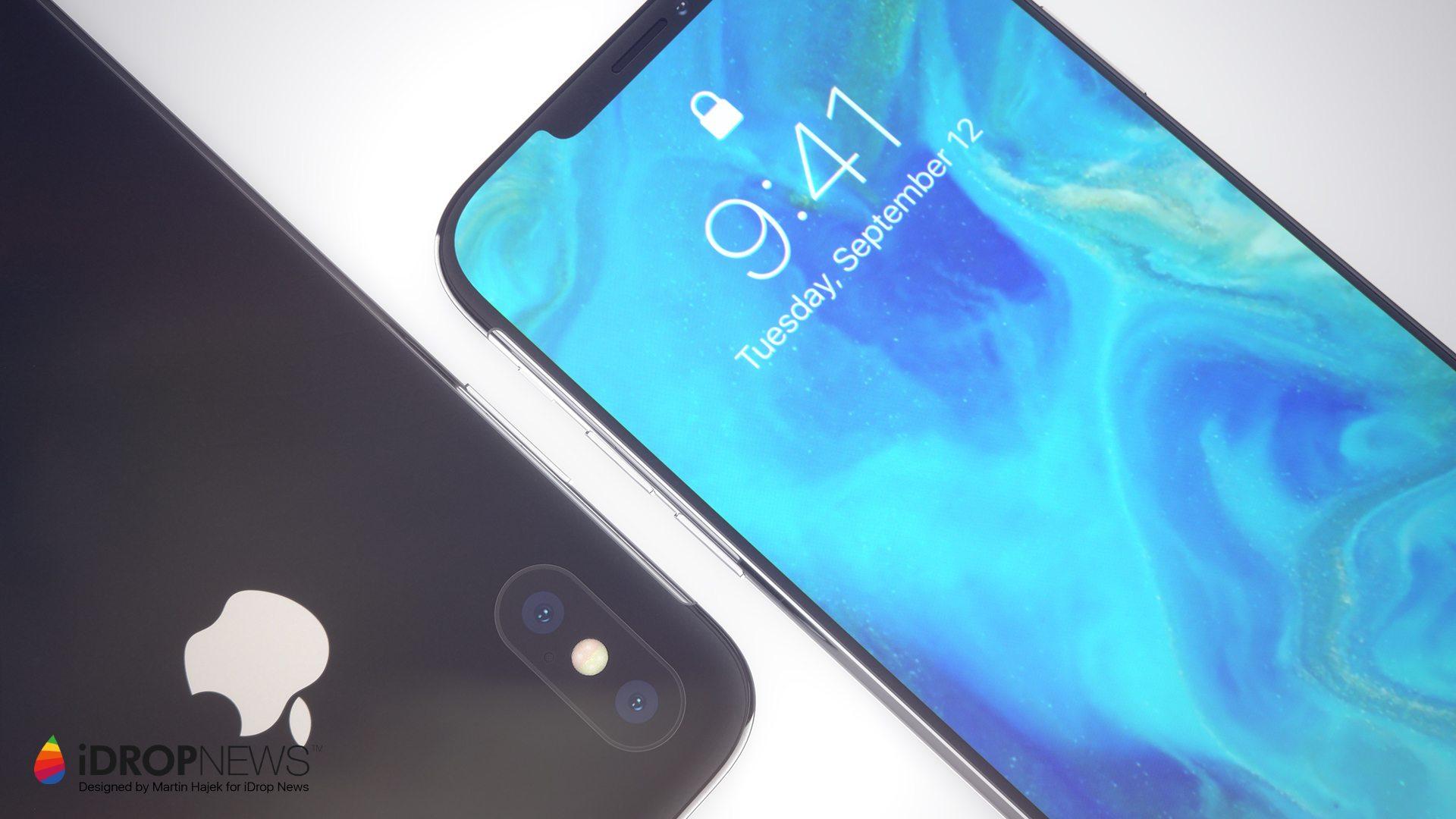 Kẻ kế nhiệm iPhone X lộ diện concept đẹp như mơ - Hình 2
