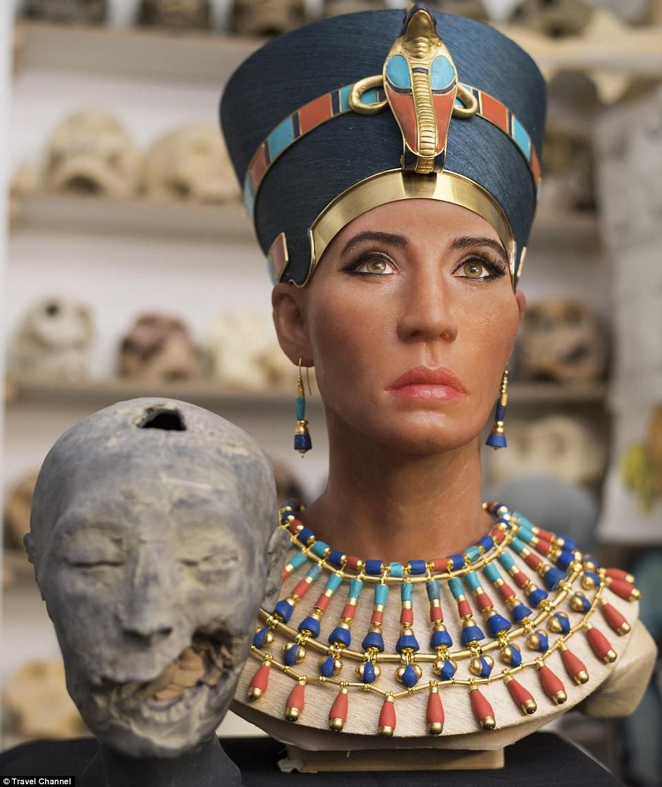 Cuộc sống số - Công nghệ quét 3D tái hiện thành công gương mặt nữ hoàng Nefertiti