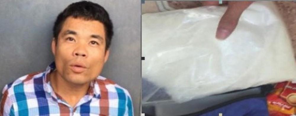 Pháp luật - Khởi tố đối tượng vận chuyển gần 1kg ma túy đá