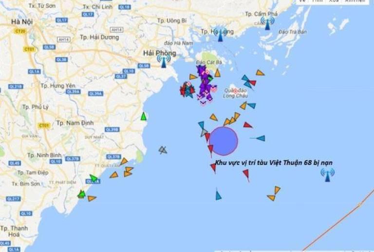 Tin nhanh - Chìm tàu gần 4.000 tấn, 9 thuyền viên thoát chết trong gang tấc