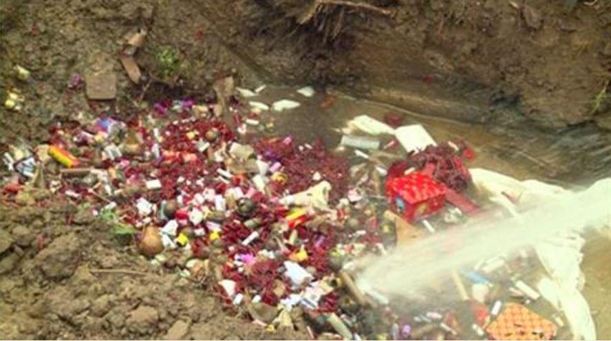 Tin nhanh - Thái Bình: Tiêu hủy 166kg pháo sau tết Nguyên đán Mậu Tuất