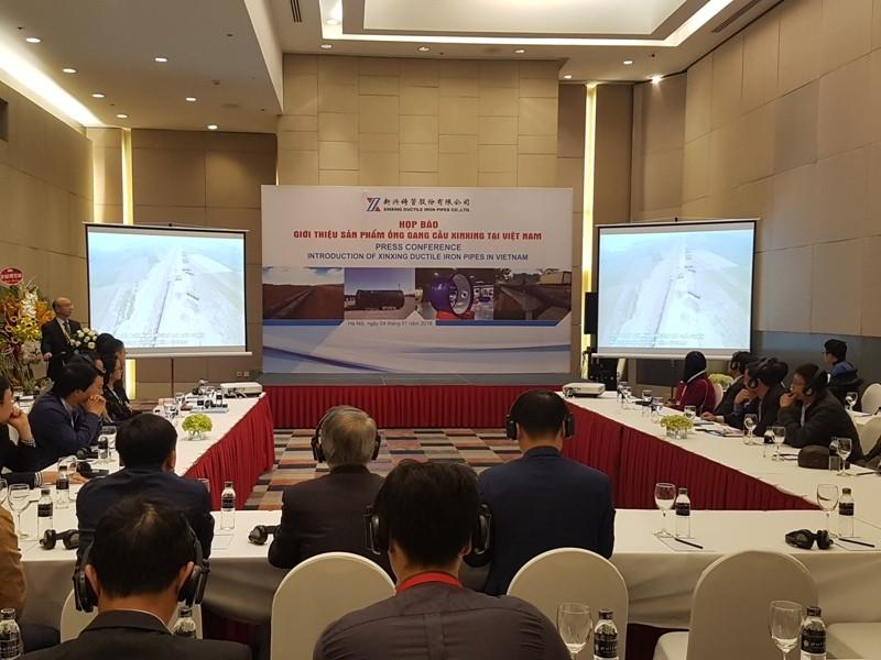 Thương hiệu - Công ty XinXing ra mắt sản phẩm ống gang cầu mới tại Việt Nam