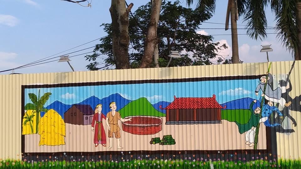 Đời sống - Cận cảnh con đường tranh 3D dài nhất Việt Nam