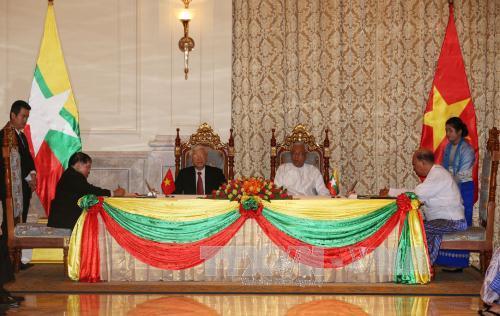 Chính trị - Xã hội - Tuyên bố chung về quan hệ Đối tác Hợp tác Toàn diện Việt Nam – Myanmar