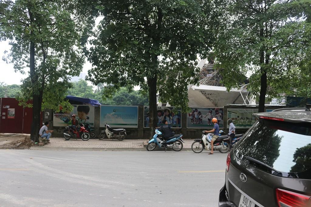 Chính trị - Xã hội - Hà Nội: Sập dự án trường mầm non lúc rạng sáng  (Hình 5).