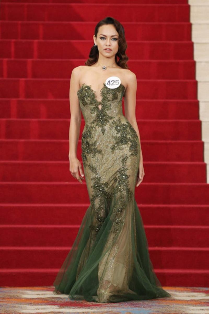 Giải trí - Không chịu nổi áp lực, Mai Ngô rút khỏi Hoa hậu Hoàn vũ Việt Nam (Hình 2).
