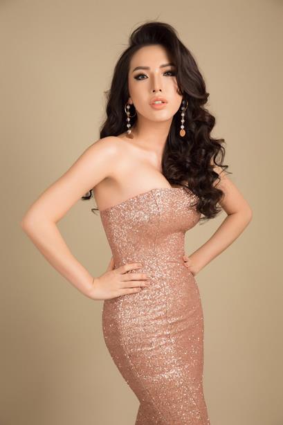 Ngôi sao - Á hậu Khánh Phương đại diện Việt Nam thi Hoa hậu Siêu quốc gia  (Hình 2).