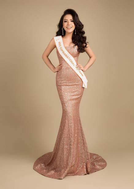 Ngôi sao - Á hậu Khánh Phương đại diện Việt Nam thi Hoa hậu Siêu quốc gia