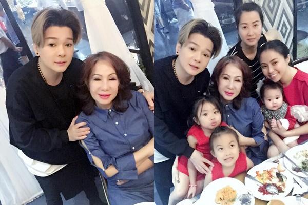 Giáng sinh 2017 của sao Việt: Người hạnh phúc bên gia đình, kẻ tất bật chạy show - Hình 5