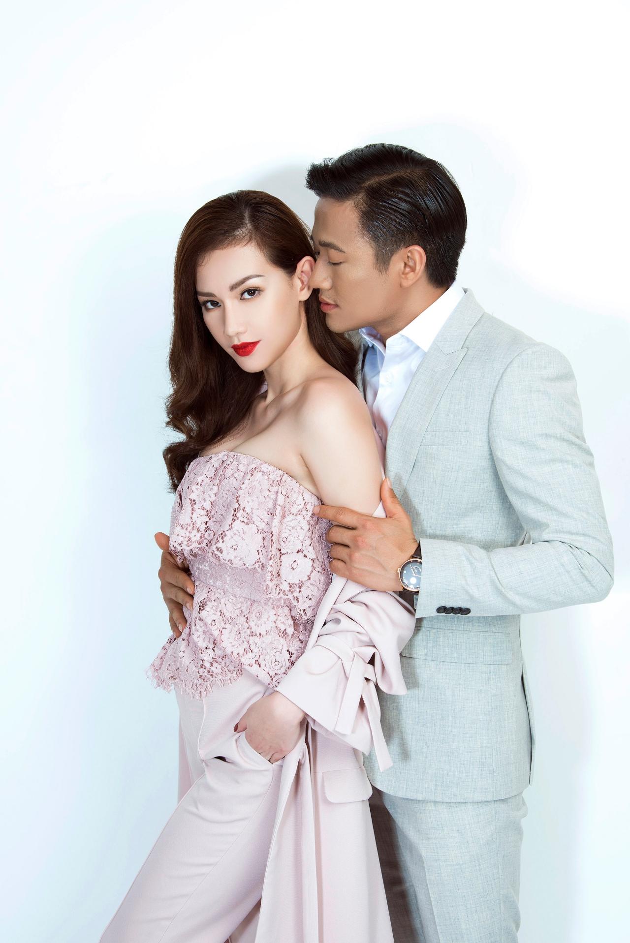 Ngôi sao - MC Quỳnh Chi khoe vẻ đẹp gợi cảm bên Quý Bình (Hình 3).