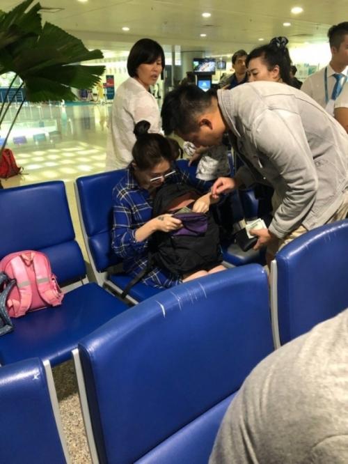 Ngôi sao - Lộ ảnh Từ Hy Viên dưỡng thai cùng chồng con ở Việt Nam