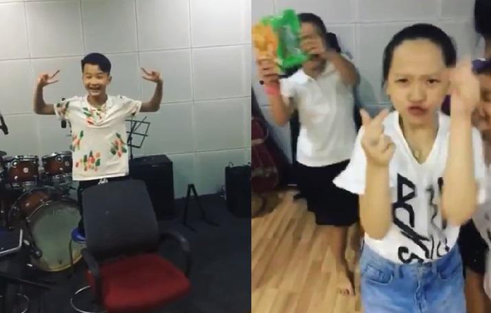 Video - The Voice Kids chưa lên sóng, Soobin Hoàng Sơn đã để lộ thành viên?