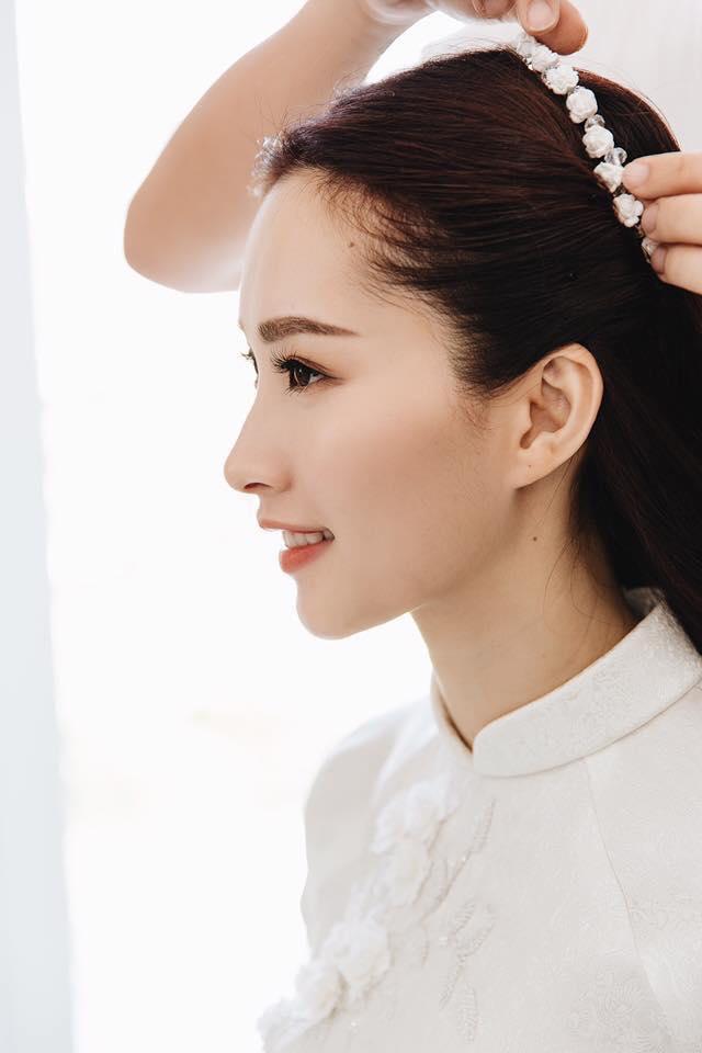 Giải trí - Hoa hậu Đặng Thu Thảo bất ngờ làm thơ trước ngày cưới (Hình 4).
