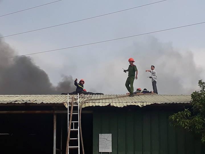 Cháy kho phế liệu dưới đường điện cao thế, toàn TP.Vũng Tàu cúp điện - Hình 4