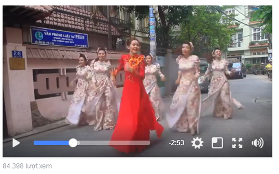 """Cộng đồng mạng - Màn nhảy """"60 năm cuộc đời' của cô dâu chú rể hút gần 85 ngàn lượt xem"""