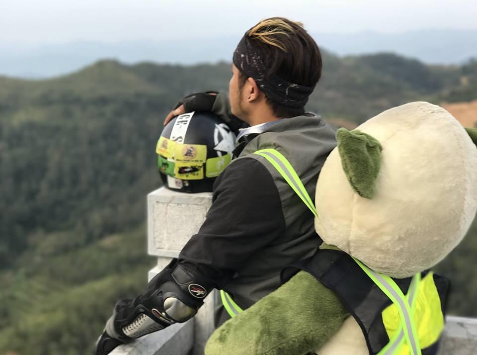 Cộng đồng mạng - Thú vị hành trình đi phượt cùng... gấu bông  (Hình 3).
