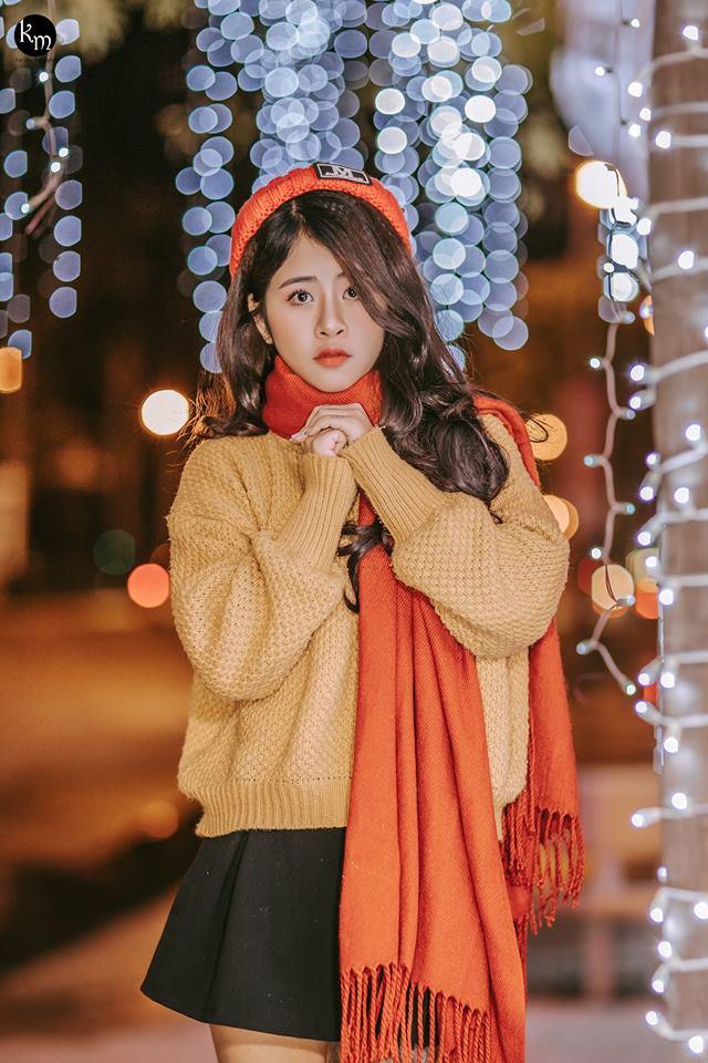 Thiếu nữ 18 tuổi gây thương nhớ vì cực xinh trong bộ ảnh chào Noel - Hình 3