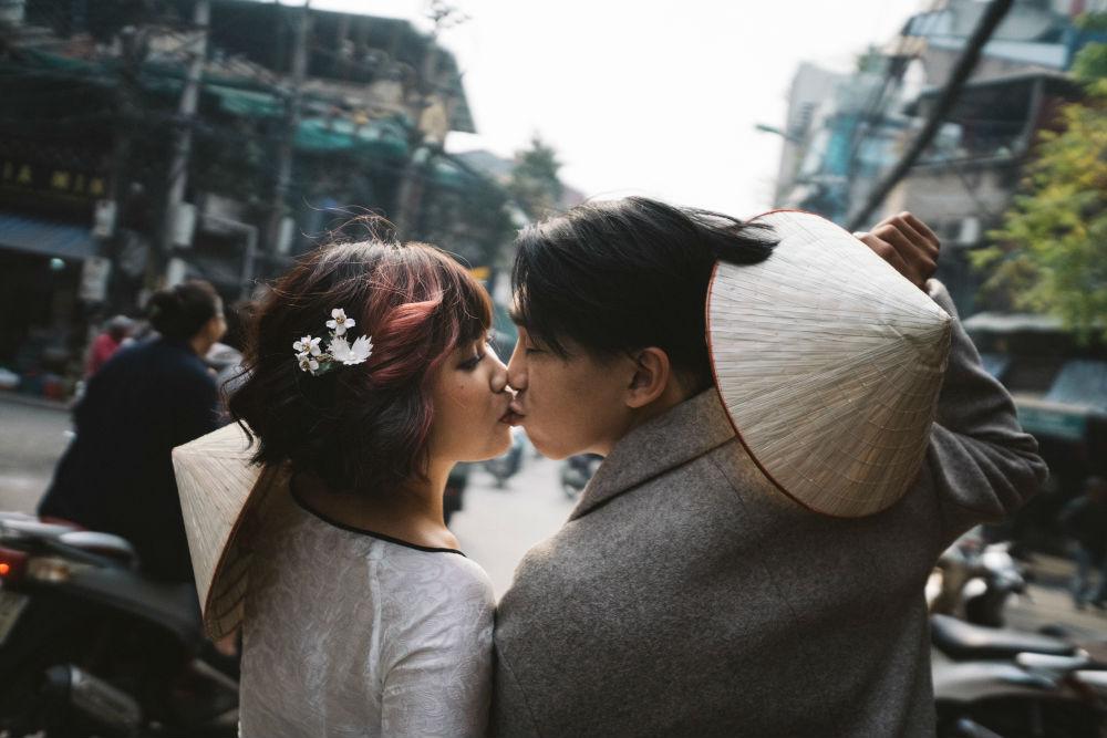 """Ảnh cưới độc đáo của cặp vũ công """"chị ơi! Anh yêu em"""" gây sốt - Hình 3"""