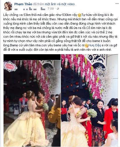 Cộng đồng mạng - Cô dâu ôm mẹ khóc nức nở trong ngày cưới hút gần 2 triệu lượt xem