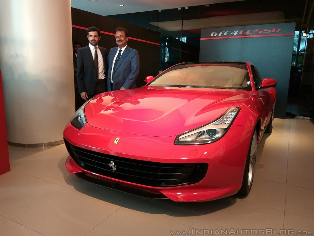 Xe++ - Tân binh 4 chỗ ngồi GTC4Lusso đầu tiên của Ferrari 'đặt lốp' tới Ấn Độ (Hình 3).