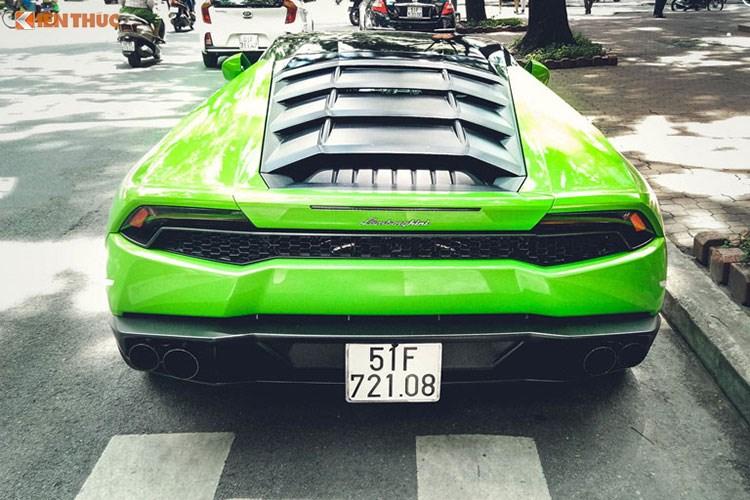"""Xe++ - Lamborghini Huracan """"màu độc"""" giá hơn 20 tỷ tại Sài Gòn (Hình 4)."""