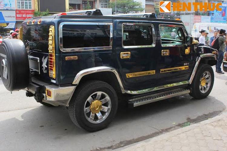 """Xe++ - Xe Rolls-Royce và Hummer tiền tỷ, """"dát vàng"""" tại Hà Nội (Hình 10)."""