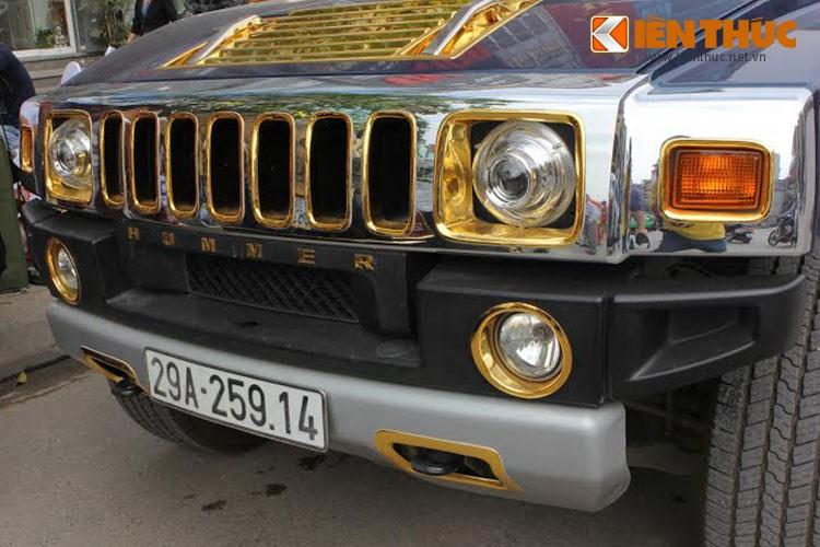 """Xe++ - Xe Rolls-Royce và Hummer tiền tỷ, """"dát vàng"""" tại Hà Nội (Hình 11)."""