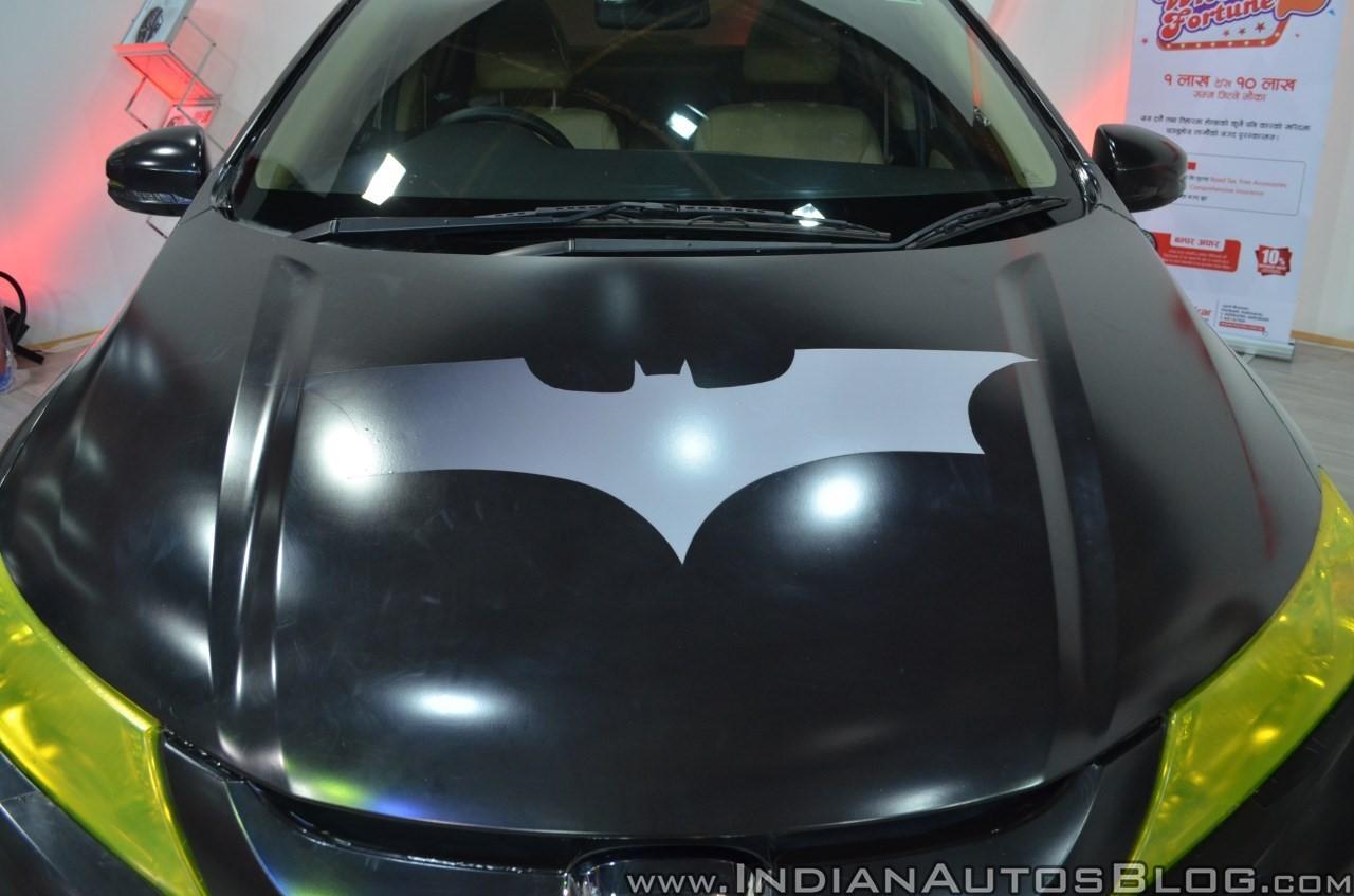 Xe++ - Honda City 2017 độ lạ lẫm với phong cách người dơi Batman  (Hình 2).