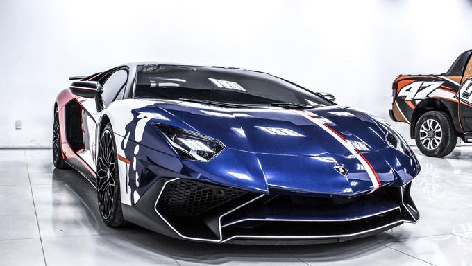 Xe++ - Lamborghini Aventador SV độc nhất của đại gia Việt Nam