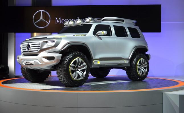 Xe++ - Mercedes-Benz GLB sẽ ra mắt vào năm 2019