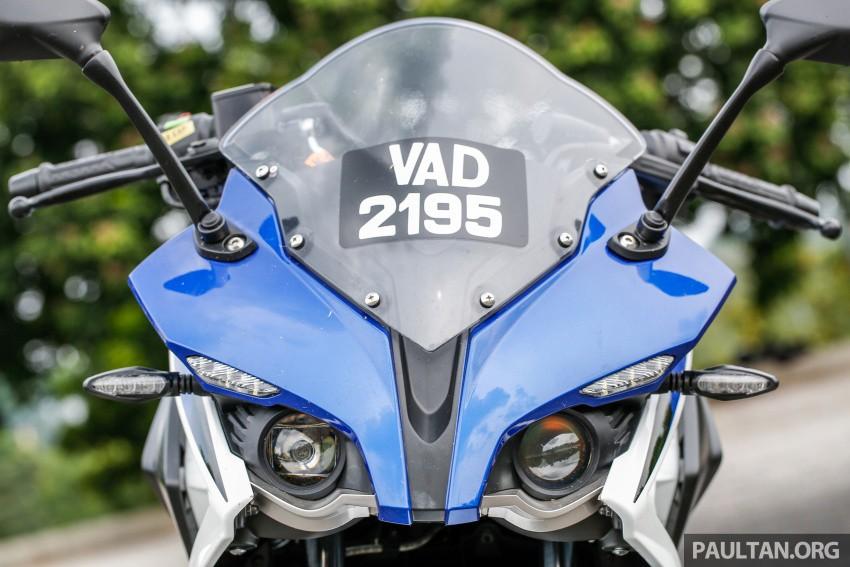 """Xe++ - Modenas Pulsar NS200 2017 """"bản sao"""" hoàn hảo của Yamaha R1 (Hình 5)."""