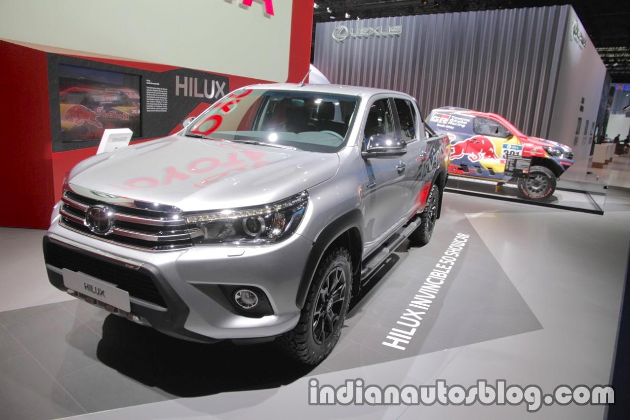 Xe++ - Toyota ra mắt phiên bản Hilux kỷ niệm 50 năm tại Frankfurt (Hình 2).