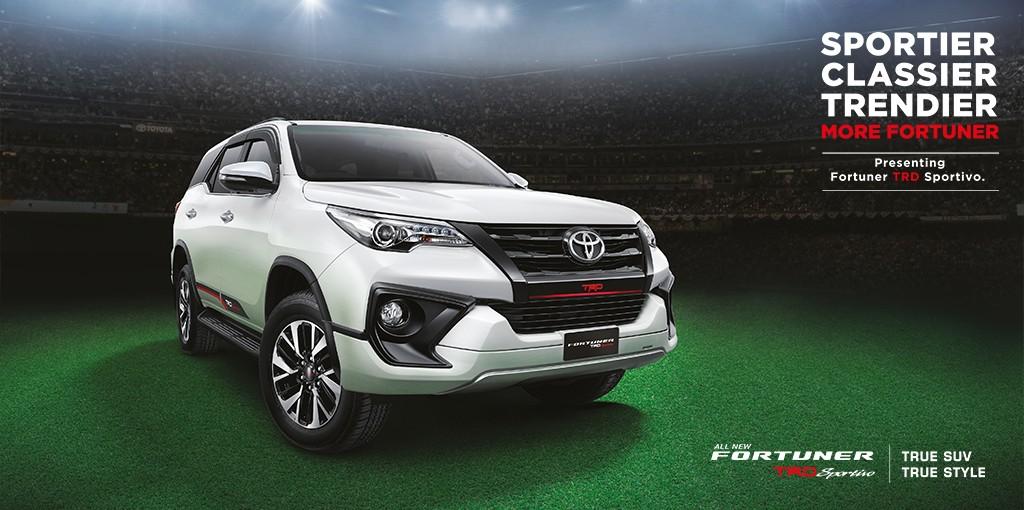 Xe++ - Toyota ra mắt Fortuner TRD Sportivo 2017 tại Ấn Độ