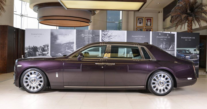 Xe++ - Cận cảnh chi tiết sedan siêu sang Rolls-Royce Phantom VIII tại Dubai (Hình 2).