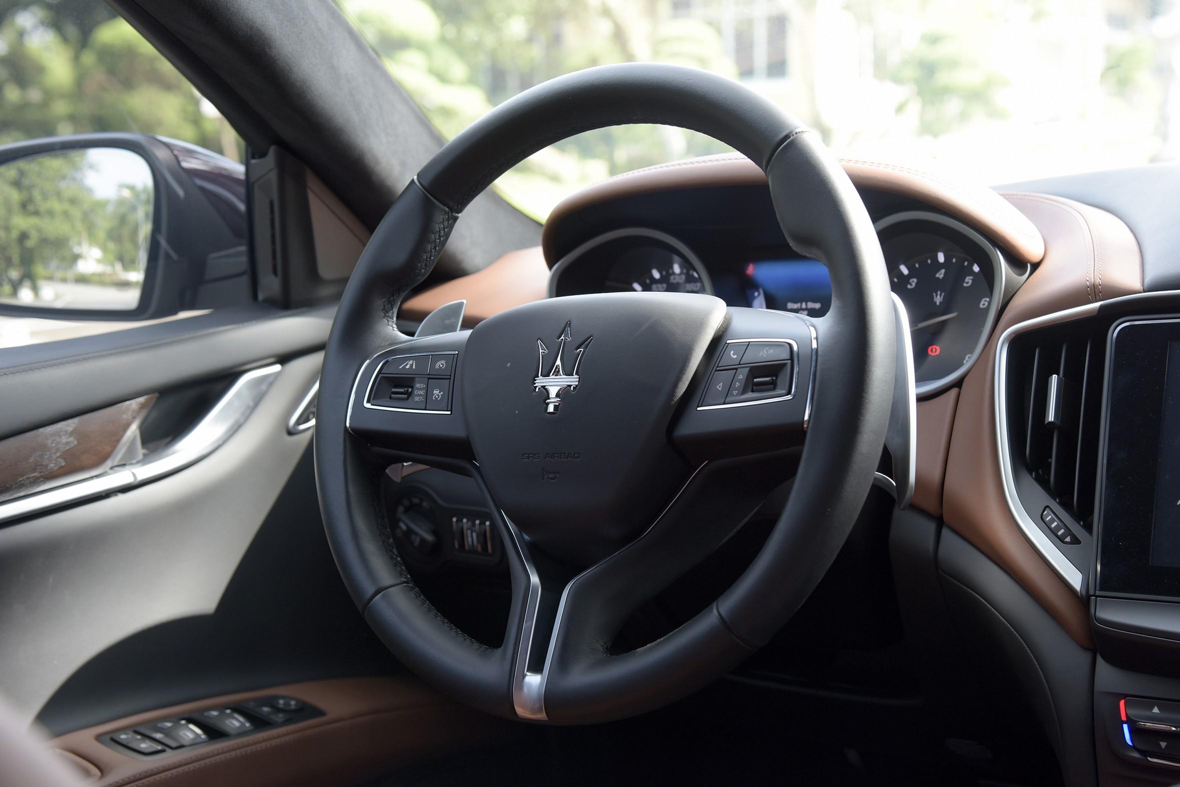 Xe++ - Maserati Ghibli - Sự trở về của vị thần biển cả (Hình 19).