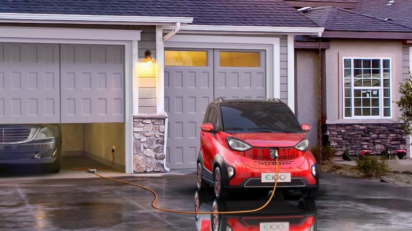 Xe++ - Ô tô điện Baojun E100 giá ngang Honda SH chỉ 125 triệu đồng