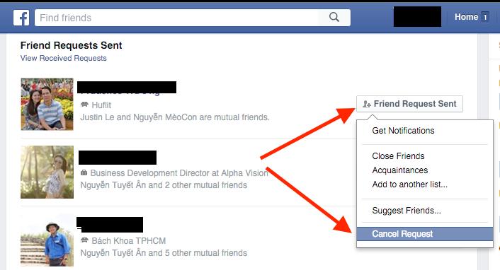 Công nghệ - Nhanh chóng hủy lời mời kết bạn hàng loạt trên Facebook (Hình 4).