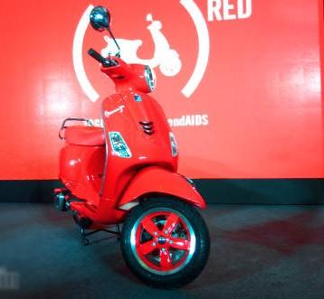 Xe++ - Ấn bản đặc biệt Vespa RED ra mắt Ấn Độ giá 30,26 triệu đồng (Hình 2).