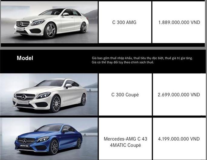 Xe++ - Bảng giá ô tô Mercedes-Benz tháng 10/2017: Mua xe tặng 50 triệu đồng  (Hình 3).